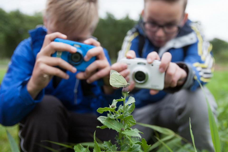Ook bij Staatsbosbeheer kun je onze leuke en leerzame workshops volgen.